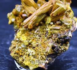 Pyromorphite 68 grammes Les Farges, Ussel, France RARE