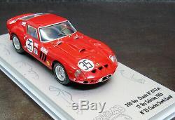 RARE 1/43 ESPRIT 43 FERRARI 250 GTO 12hr SEBRING 3757gt 1965 BUILT MODEL n AMR