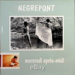 RARE ALBUM Photographique Mercredi Après Midi par NEGREPONT. 1982