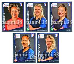 RARE! Collector HENRY, RENARD, SOMMER, THINEY, BOUHADDI FRANCE 2019 PANINI