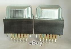 RARE FRENCH DISSIDENT AUDIO Da176a PAIR of output transformer for SE tube amp