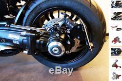 ROCKET 3 R/GT Support de plaque latéral Triumph Rocket 3 R/GT