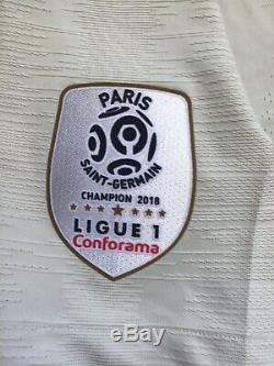 Rare Bnwt Nike Fff France Psg Paris 18/19 Away Match Player Issue Pro Stock, M