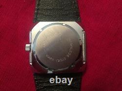 Rare montre PAT vintage à Guichets (jump hour)
