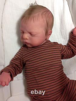 Reborn Everlee by Sabine Altenkirch, Baby boy