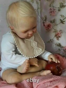 Reborn Toddler Doll Baby Bébé Poupée Authentique D. RUBERT Collection A SAISIR