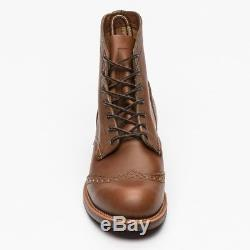 Red Wing Brogue Ranger Boots Leather Size Uk 6 Us 7 France 39-40 Neuves. 340