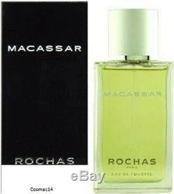 Rochas Macassar Vintage Neuf 75ml Eau de Toilette (Sans emballage)
