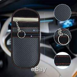 Ruesious 2 x Sac de Protection Anti-Radiation RFID pour clés sans clé sans Con