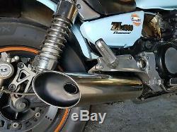 SILENCIEUX 100 % INOX (Muffler Exhaust) Kawasaki ZL 1000 900 750 Eliminator