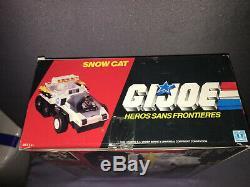 SNOW CAT GI JOE Héros sans frontières boîte scellée MISB Hasbro France