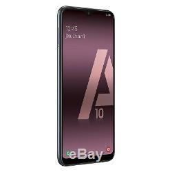Samsung Galaxy A10 A105 2Go/32Go Dual Sim Débloqué Noir Neuf SAV EN FRANCE