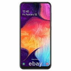 Samsung Galaxy A50 SM-A505F/DS 128 Go 4 Go 25MP Noir International Smartphone