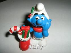 Schtroumpf smurf schlumpf Christmas PrototypesNEW Série Complète des VARIANTES