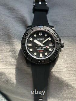 Seiko submariner NH35 Noir/Black PVD