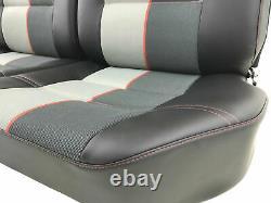 Sellerie garniture avant arrière Peugeot 205 GTI cuir noir Ramier réf 205/15/19