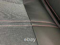 Sellerie garniture complète Peugeot 205 CTI simili noir Ramier réf 205/11/24