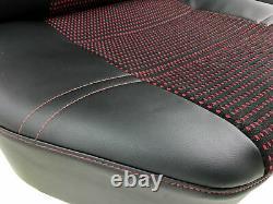 Sellerie garniture complète Peugeot 205 GTI simili noir Quartet réf 205/12/23
