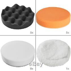 Set déponges de polissage 29 pièces pour machine à polir