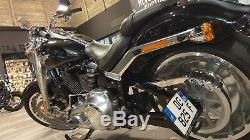 Support de plaque latéral Harley-Davidson Softail FLFB FAT BOY 2018-2020