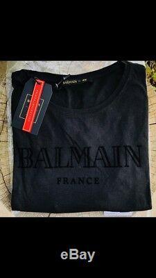 T-Shirt H&M X Balmain Taille M Noir France