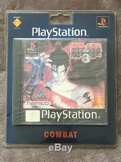 TEKKEN 3 PS1 neuf blister rigide BRAND NEW France RARE! Playstation sealed