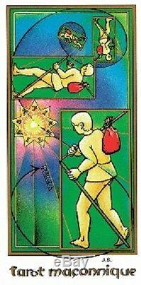 Tarot Maçonnique de Jean Beauchard 78 cartes & livret (Masonic Tarot Deck)