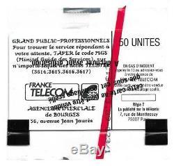 Télécarte F58 BOURGES MINITEL en 50 U SO2 03/89 2000 Ex. Neuve