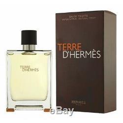 Terre D'Hermès Eau De Toilette Hommes Neuf 200ml