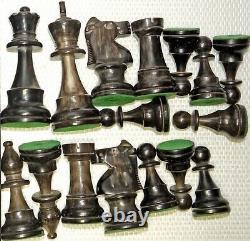 Très belles pièces de jeu d'echecs neuves, jamais utilisées
