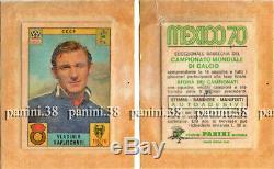 ULTRA RARE! PROMO Pochette WC MEXICO 70 bustina, packet, tüte PANINI 1970