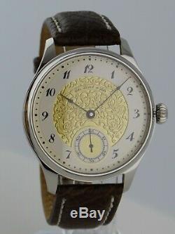 Unique TISSOT Unitas 6498 vintage pocket watch conversion RARE