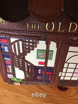 VENDULA LONDON 2019 sac à main mod OLD BOOK SHOP étiqueté, prix 250 RARE