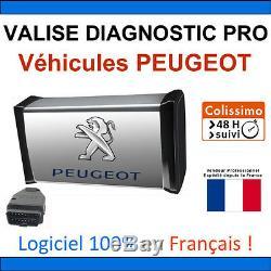 Valise Diagnostic Pro Véhicules Peugeot OBD2 Lexia DiagBox ELM PP2000 Multidiag