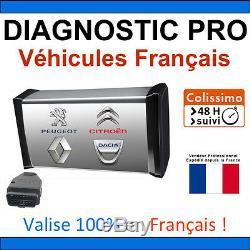 Valise de Diagnostic PRO Véhicules Français DIAGBOX RENOLINK PP2000 LEXIA ELM