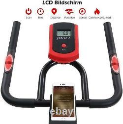 Vélo d'appartement biking cardio pulsomètre fitness sport entraînement spinning