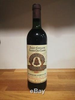 Vin Bordeaux Saint Emilion Grand Cru Classé A Château Angélus 1983