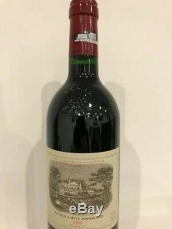 Vin Rouge Bordeaux Château Lafite Rothschild Pauillac Année 2000