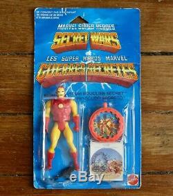 Vintage 1984 Iron Man Guerres Secretes Secret Wars neuf new MOC France Mattel