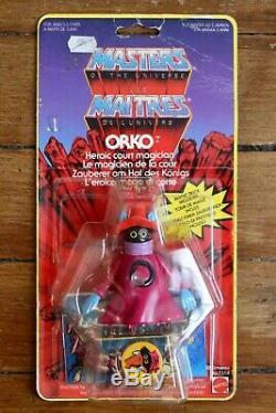 Vintage 1985 Yellow Border Orko MOTU YB France Masters of the Universe MOC new