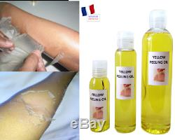 YELLOW PEELING OIL- HUILE DE PEELING JAUNE EXTRA FORTE- 50 ml, 100 ml et 250 ml