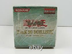 YU-GI-OH display box 30 booster PACK DU DUELLISTE Jessie Anderson France