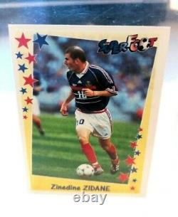 Zidane Psa 10 Panini Zidane New 1998 Juventus + France 98/99