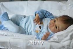 @ @ @ @ @baby reborn bébé doll du kit Leah-Jolin Sabine Altenkirch